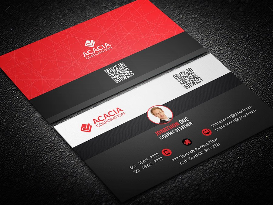 Personal Business Card ~ Business Card Templates ~ Creative Market