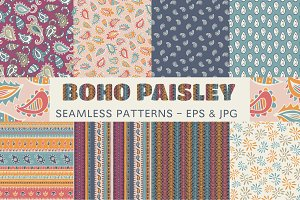 Boho Paisley - patterns