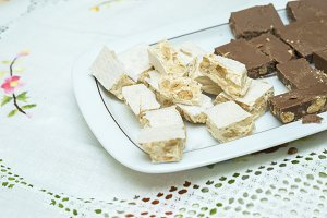 nougat of different