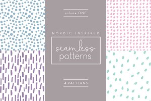 Nordic Seamless Patterns - Vol 1