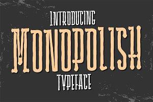 Monopolish Typeface