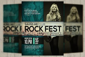 Rock Fest Flyer / Poster