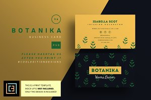 Botanika - Business Card 96