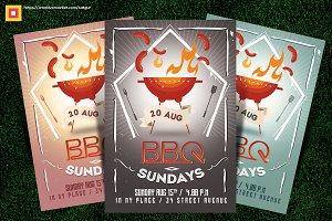 Barbecue / BBQ Party Flyer V2