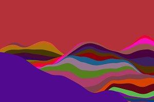 Wavy Color Lines
