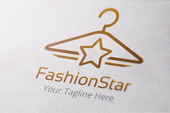 Fashion Star Logo Template