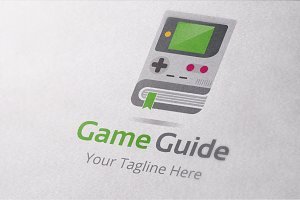Game Guide Logo Template
