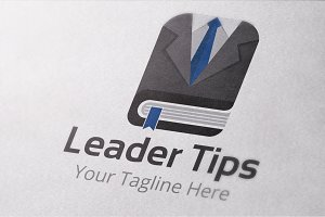 Leader Tips Logo Template