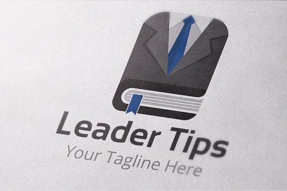 Leader Tips Logo Template in Logo Templates