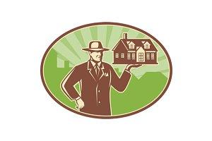 Real Estate Salesman House