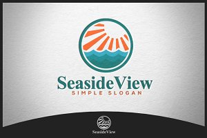 Seaside View Logo