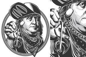 Benjamin Franklin bundle. 7 in1