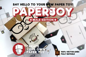 PAPERJOY - Customizable Paper Toy
