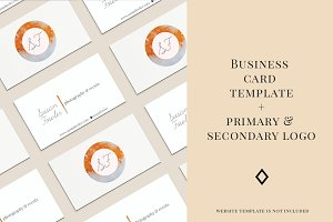 Susan - Business Card & Logo Kit