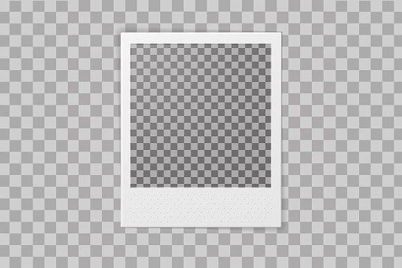 Polaroid Photo Frame ~ Product Mockups ~ Creative Market