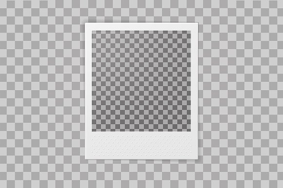 Polaroid Photo Frame in Product Mockups