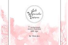 Soft Watercolor Ombre Paper