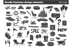 Doodle business design elements