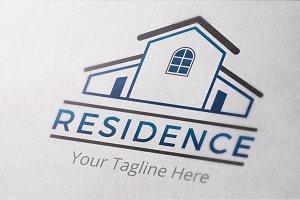 Residence Logo Template