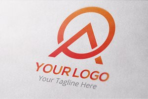 Letter A & O logo Template