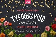 Typographic Logo Creator