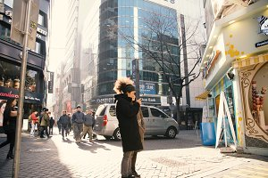 Peopl in Seoul, South Korea