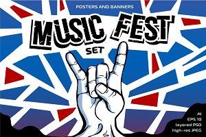 Rock Music Fest set