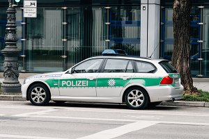 Police car in Munich