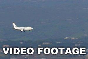 Ellinair Plane Landing-On