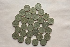 GBP Pound coins