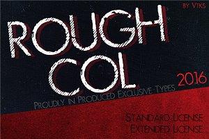 RoughCol VtksFont