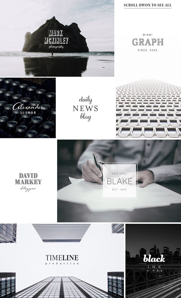 100 Typography Logos Typekit Edition
