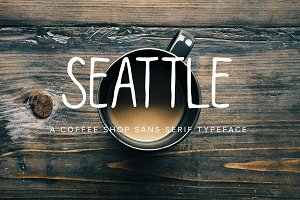 Seattle | Multi-Weight Font