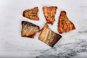 Smoke Red Salmon Fillets