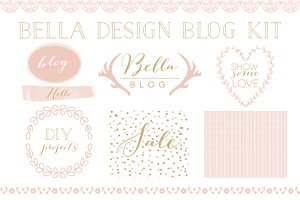 Bella Blog Design Kit