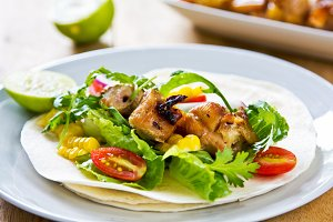 Grilled chicken Tortilla