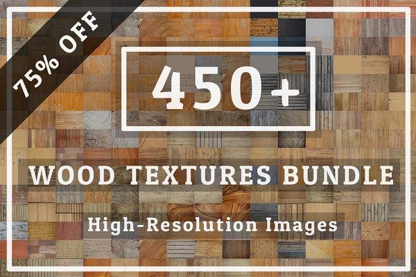 Big Pack Wood Textures Bundle