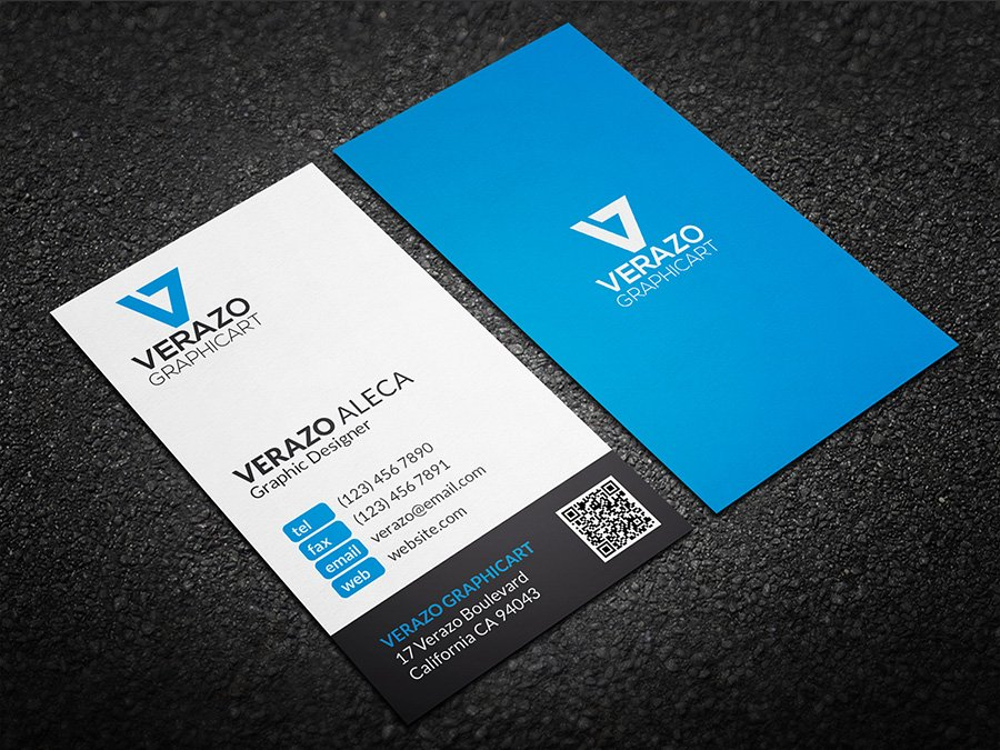Clean Minimal Business Card ~ Business Card Templates ~ Creative Market