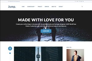 Jump - Blog WordPress Theme