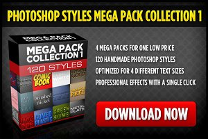 Photoshop Styles Mega Collection 1