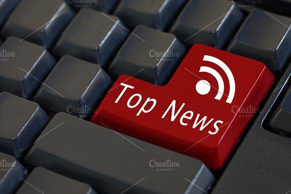 'Top News' on enter keyboard