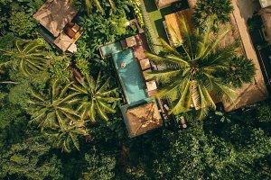 Luxury resort surrounded