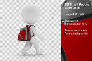 3D Small People - Back to School