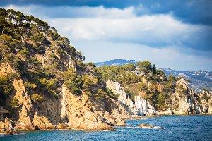 Spain seacoast