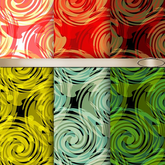 Abstraction. Seamless pattern. - Patterns