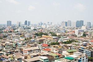 Bangkok City Day Scene