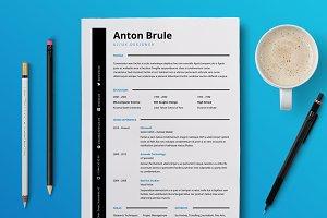 Anton Brule Resume Template