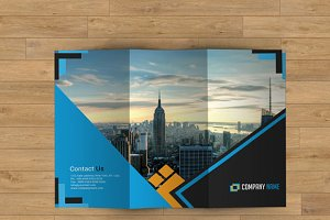 Trifold Corporate Brochure - V24