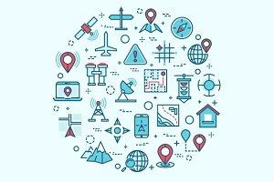 Cartography, location, navigation