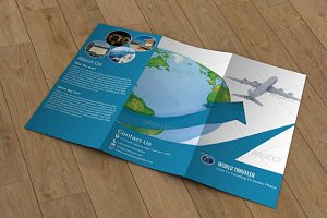 Travel Agency Brochure - V25